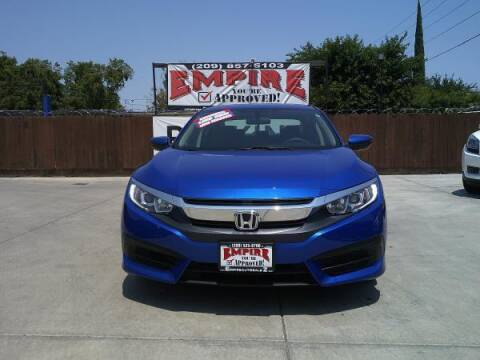 2017 Honda Civic for sale at Empire Auto Sales in Modesto CA