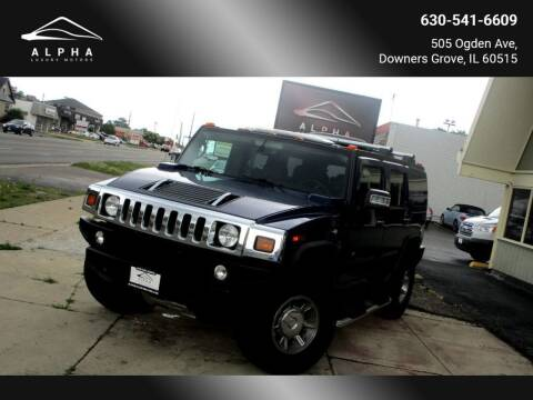 2007 HUMMER H2 for sale at Alpha Luxury Motors in Downers Grove IL