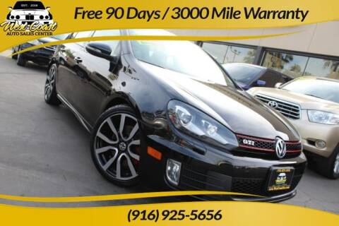 2012 Volkswagen GTI for sale at West Coast Auto Sales Center in Sacramento CA