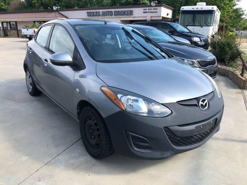 2013 Mazda MAZDA2 for sale at Texas Auto Broker in Killeen TX