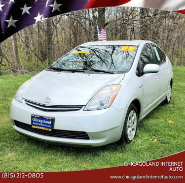 2008 Toyota Prius for sale at Chicagoland Internet Auto - 410 N Vine St New Lenox IL, 60451 in New Lenox IL