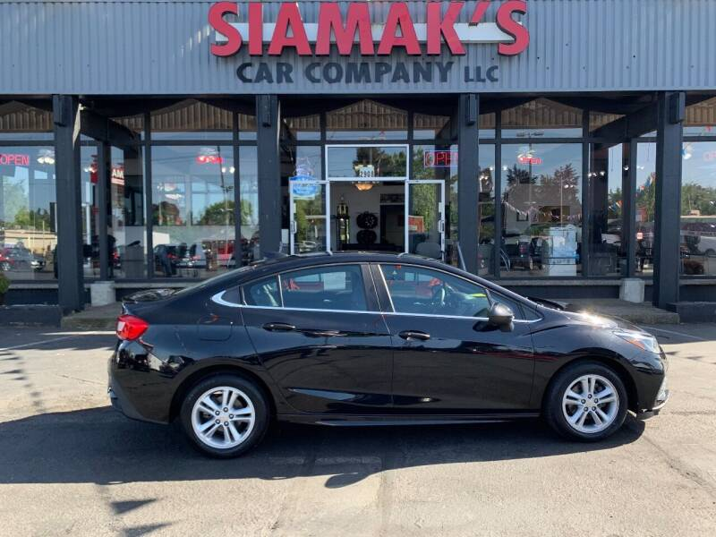 2017 Chevrolet Cruze for sale at Siamak's Car Company llc in Salem OR