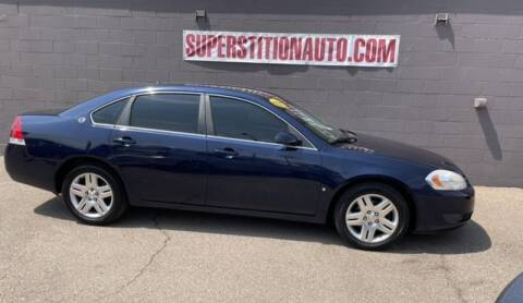 2008 Chevrolet Impala for sale at Superstition Auto in Mesa AZ