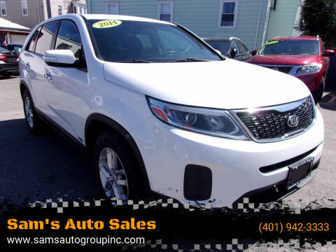 2014 Kia Sorento for sale at Sam's Auto Sales in Cranston RI