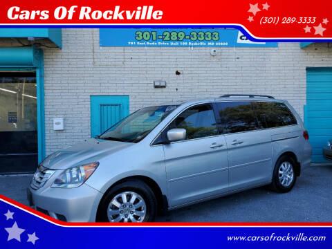 2009 Honda Odyssey for sale at Cars Of Rockville in Rockville MD