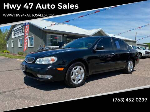2000 Infiniti I30 for sale at Hwy 47 Auto Sales in Saint Francis MN