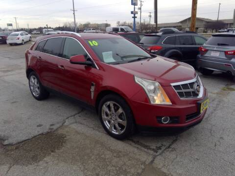 2010 Cadillac SRX for sale at Regency Motors Inc in Davenport IA