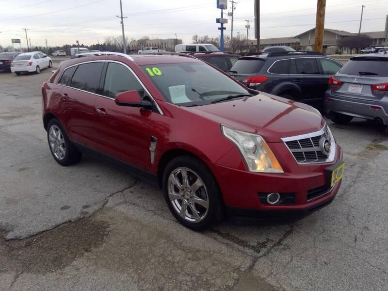 2010 Cadillac SRX for sale at Regency Motors Inc in Davenport IA