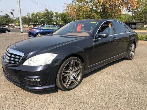 2008 Mercedes-Benz S-Class for sale at All Cars & Trucks in North Highlands CA