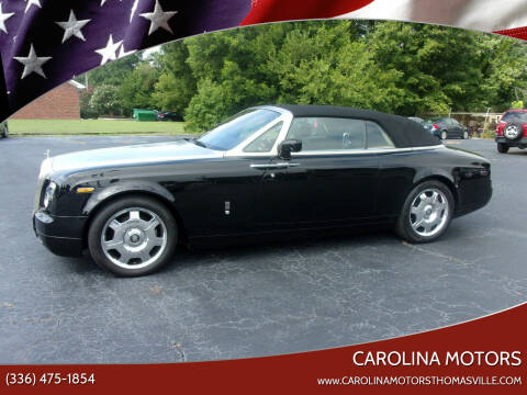 2009 Rolls-Royce Phantom Drophead Coupe for sale at CAROLINA MOTORS in Thomasville NC