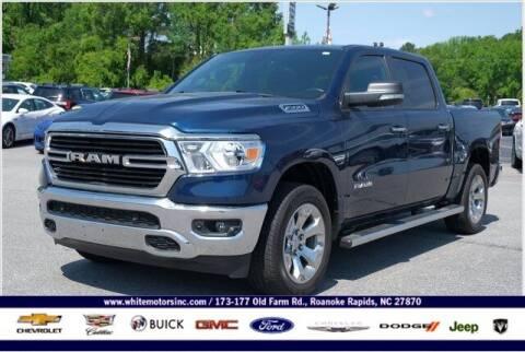 2019 RAM Ram Pickup 1500 for sale at WHITE MOTORS INC in Roanoke Rapids NC