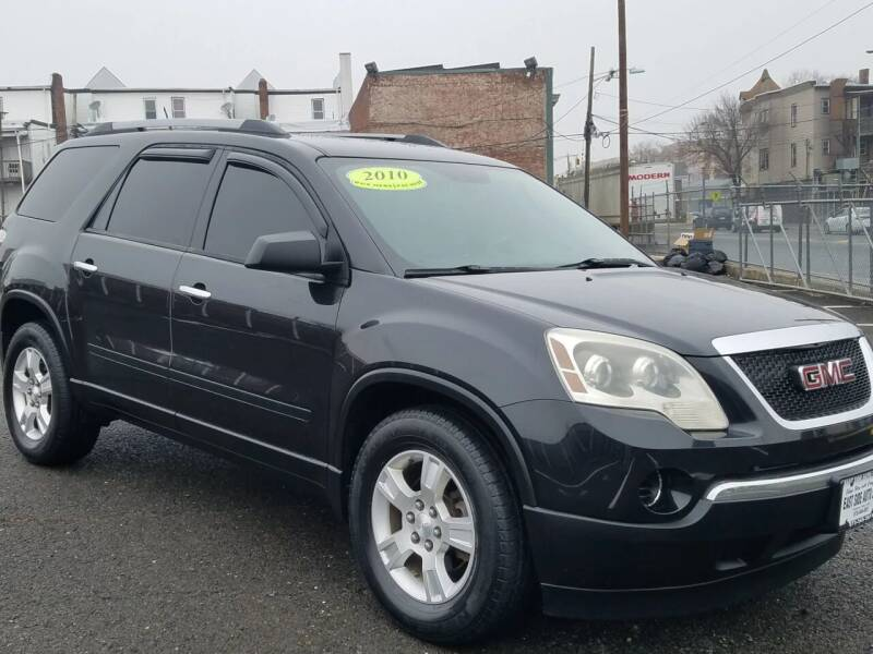 2010 GMC Acadia for sale at EAST SIDE AUTO SALES INC in Paterson NJ