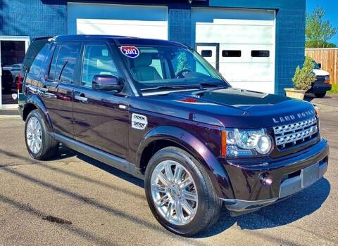 2012 Land Rover LR4 for sale at Saugus Auto Mall in Saugus MA
