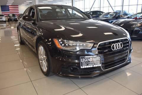2013 Audi A6 for sale at Legend Auto in Sacramento CA
