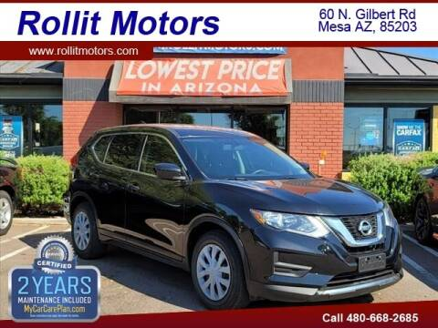 2017 Nissan Rogue for sale at Rollit Motors in Mesa AZ