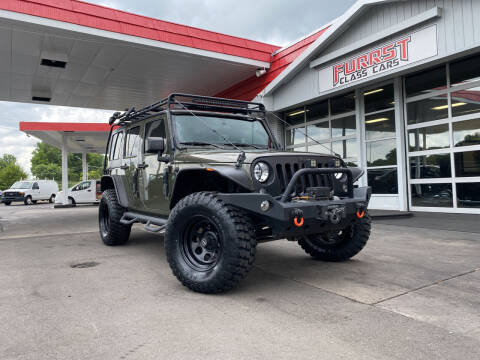 2016 Jeep Wrangler Unlimited for sale at Furrst Class Cars LLC  - Independence Blvd. in Charlotte NC