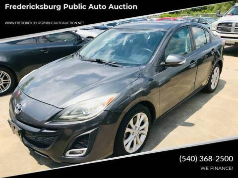 2010 Mazda MAZDA3 for sale at FPAA in Fredericksburg VA