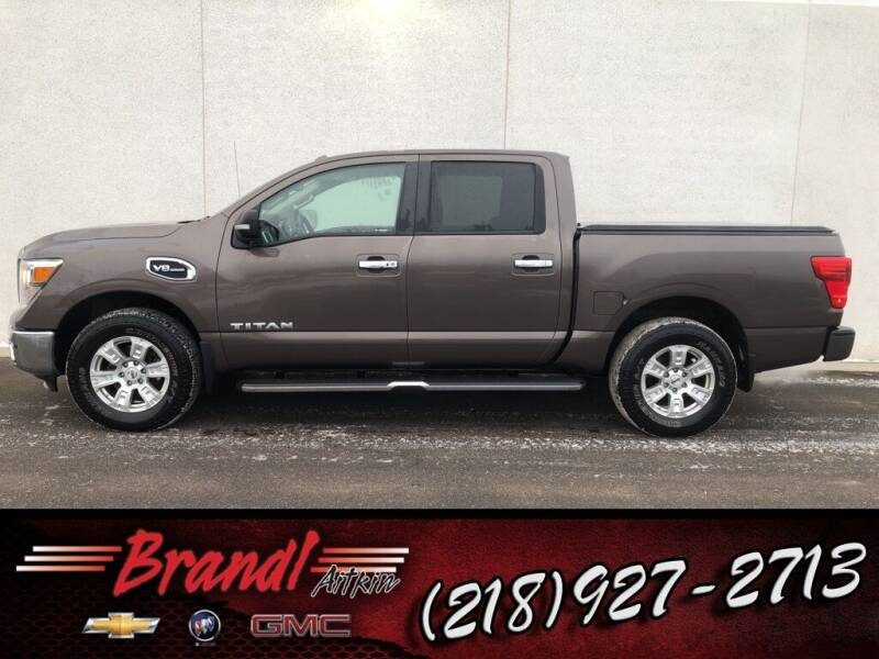 2017 Nissan Titan for sale at Brandl GM in Aitkin MN