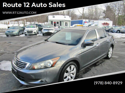 2008 Honda Accord for sale at Route 12 Auto Sales in Leominster MA