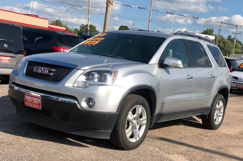 2009 GMC Acadia for sale at SOLOMA AUTO SALES in Grand Island NE