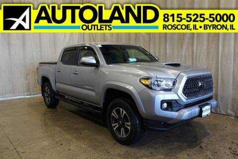 2018 Toyota Tacoma for sale at AutoLand Outlets Inc in Roscoe IL