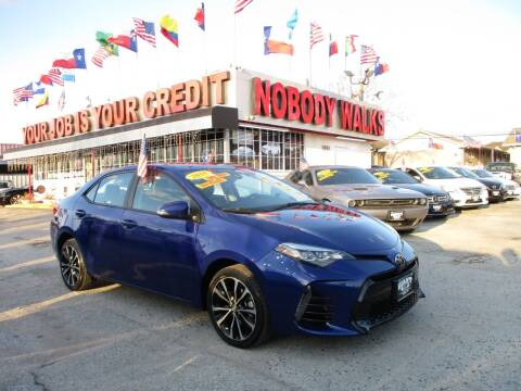 2018 Toyota Corolla for sale at Giant Auto Mart 2 in Houston TX