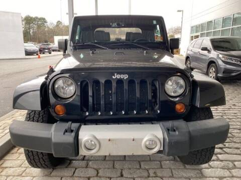 2013 Jeep Wrangler for sale at Southern Auto Solutions-Jim Ellis Volkswagen Atlan in Marietta GA