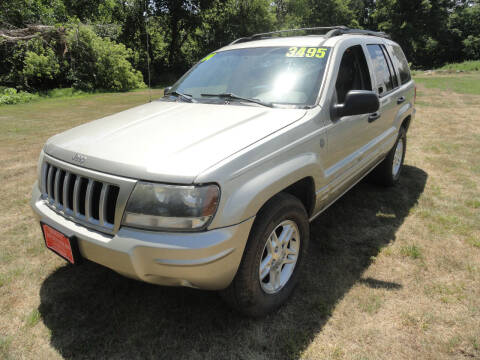 2004 Jeep Grand Cherokee for sale at John's Auto Sales in Council Bluffs IA