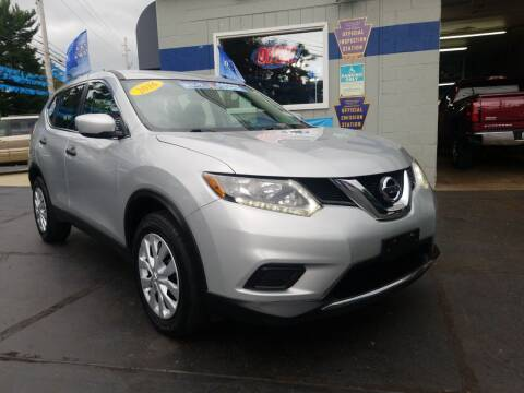 2016 Nissan Rogue for sale at Fleetwing Auto Sales in Erie PA