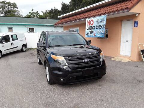 2013 Ford Explorer for sale at Gold Motors Auto Group Inc in Tampa FL