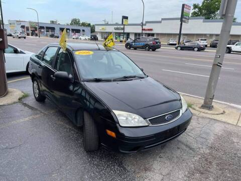 2006 Ford Focus for sale at JBA Auto Sales Inc in Stone Park IL
