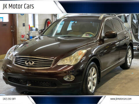 2009 Infiniti EX35 for sale at JK Motor Cars in Pittsburgh PA
