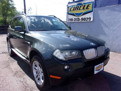 2008 BMW X3 for sale at Circle Auto Center in Colorado Springs CO