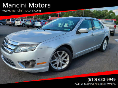 2012 Ford Fusion for sale at Mancini Motors in Norristown PA
