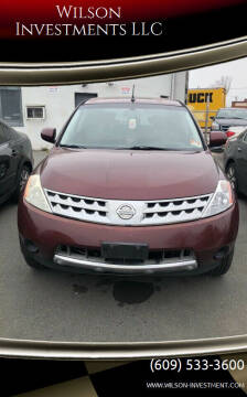 2006 Nissan Murano for sale at Wilson Investments LLC in Ewing NJ
