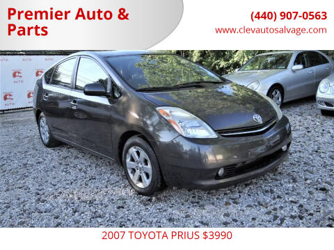 2007 Toyota Prius for sale at Premier Auto & Parts in Elyria OH