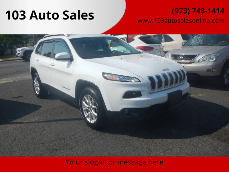 2014 Jeep Cherokee for sale at 103 Auto Sales in Bloomfield NJ