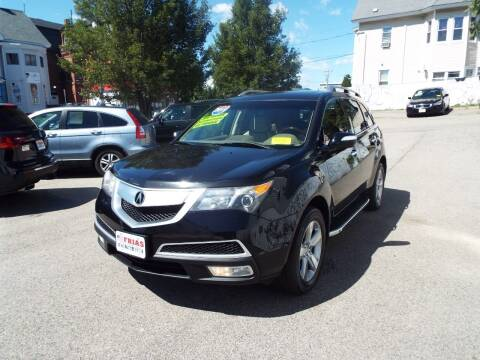 2011 Acura MDX for sale at FRIAS AUTO SALES LLC in Lawrence MA