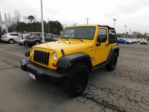 2008 Jeep Wrangler for sale at Paniagua Auto Mall in Dalton GA