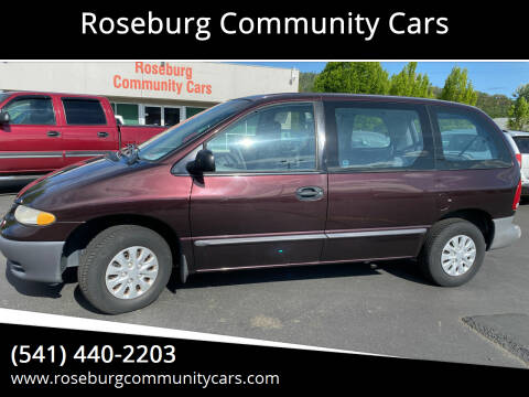1996 Plymouth Voyager for sale at Roseburg Community Cars in Roseburg OR