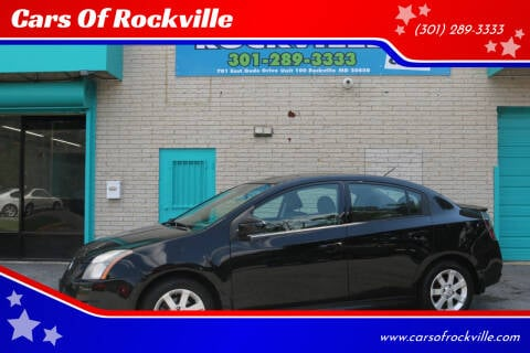 2012 Nissan Sentra for sale at Cars Of Rockville in Rockville MD