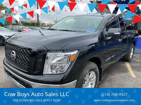 2019 Nissan Titan for sale at Cow Boys Auto Sales LLC in Garland TX