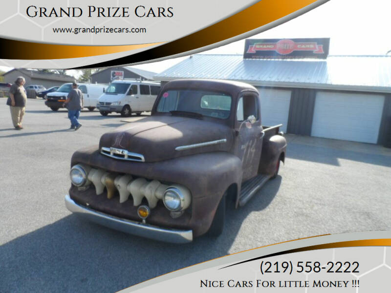 1950 Ford F-1 for sale at Grand Prize Cars in Cedar Lake IN