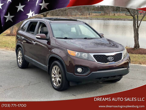 2011 Kia Sorento for sale at Dreams Auto Sales LLC in Leesburg VA