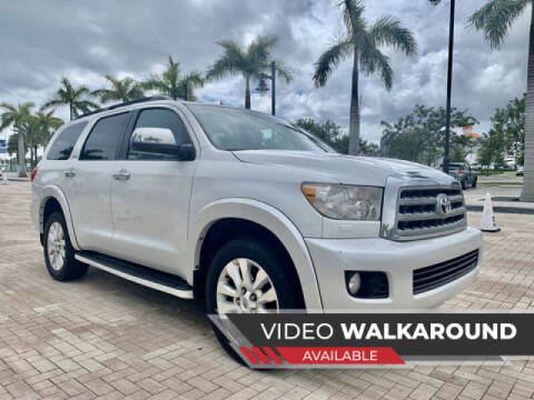 2008 Toyota Sequoia for sale at AUTOSPORT MOTORS in Lake Park FL