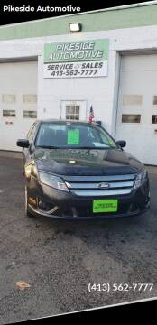 2012 Ford Fusion for sale at Pikeside Automotive in Westfield MA