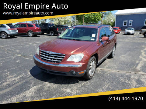 2007 Chrysler Pacifica for sale at Royal Empire Auto in Milwaukee WI