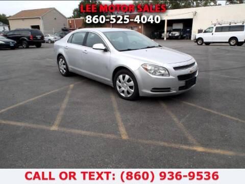 2010 Chevrolet Malibu for sale at Lee Motor Sales Inc. in Hartford CT