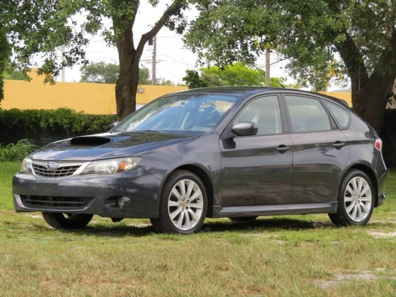 2008 Subaru Impreza for sale at DK Auto Sales in Hollywood FL