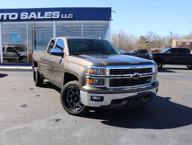 2014 Chevrolet Silverado 1500 for sale at Williams Auto Sales, LLC in Cookeville TN